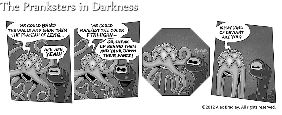 The Pranksters in Darkness