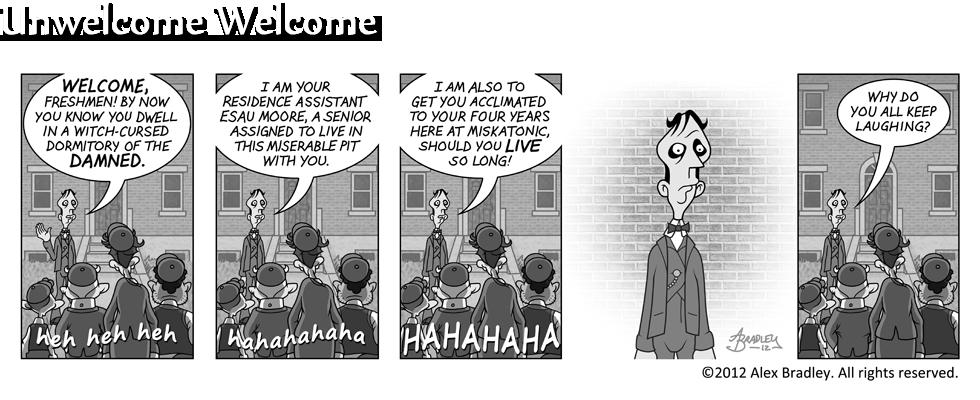 Unwelcome Welcome