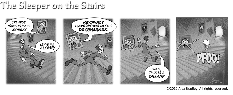 The Sleeper on the Stairs