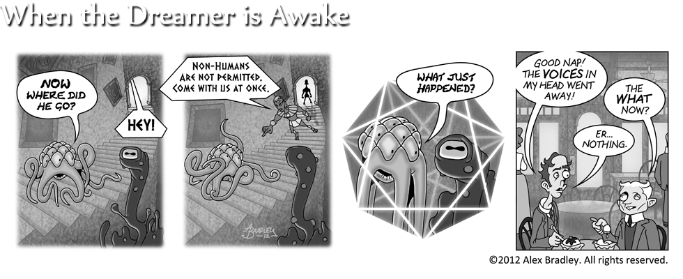 When the Dreamer Is Awake