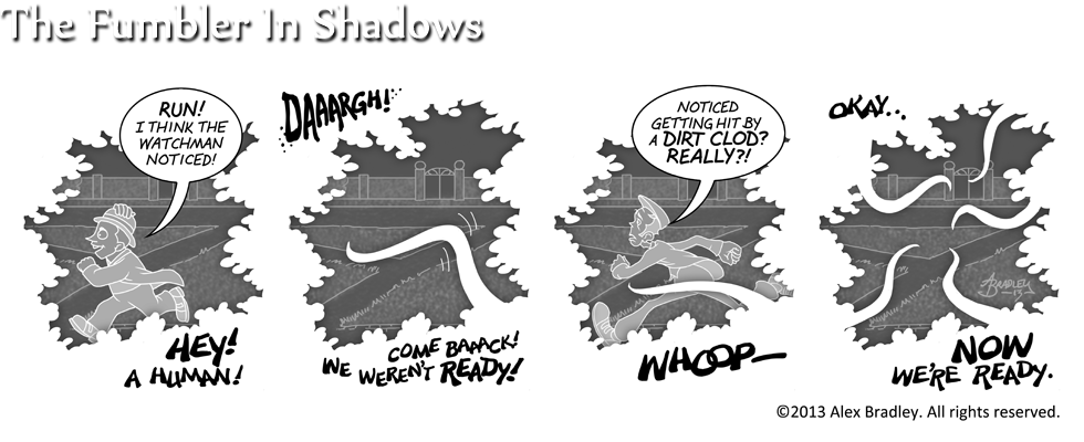 The Fumbler In Shadows
