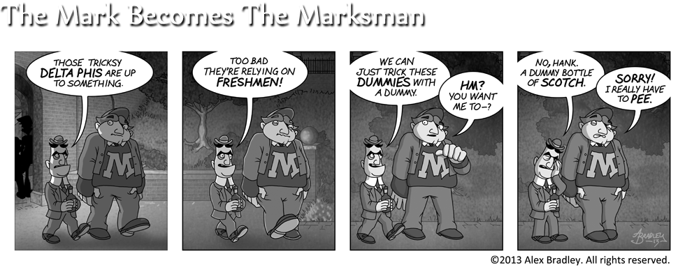 The Mark Becomes The Marksman