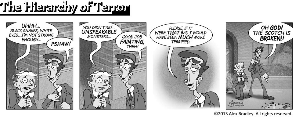 The Hierarchy of Terror