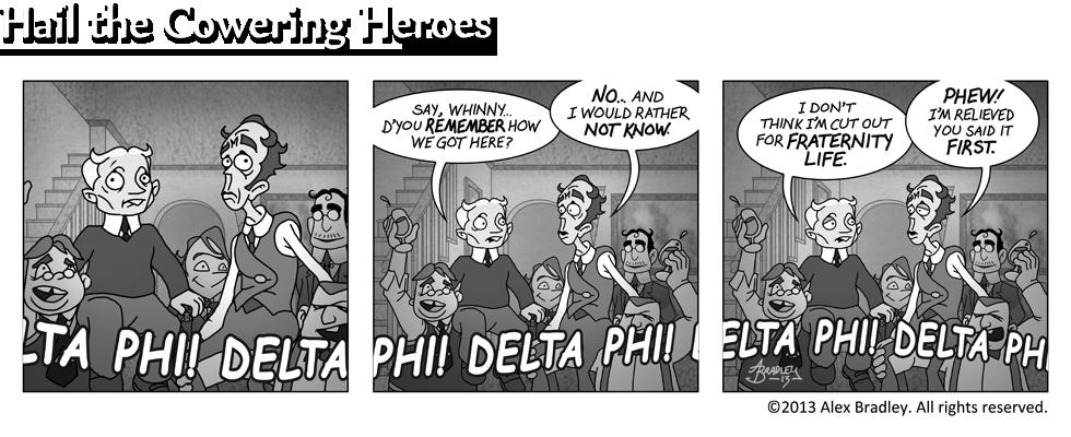 Hail the Cowering Heroes