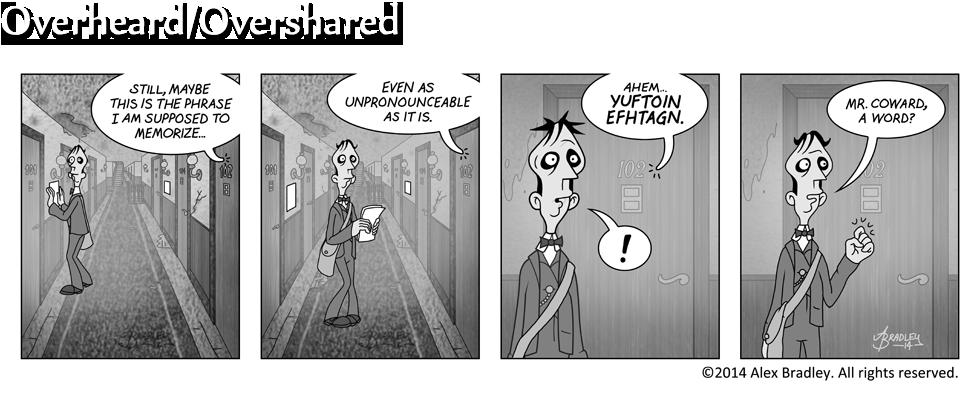 Overheard/Overshared