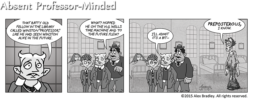 Absent Professor-Minded