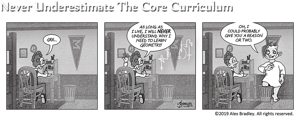 Never Underestimate The Core Curriculum