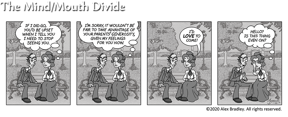 The Mind/Mouth Divide