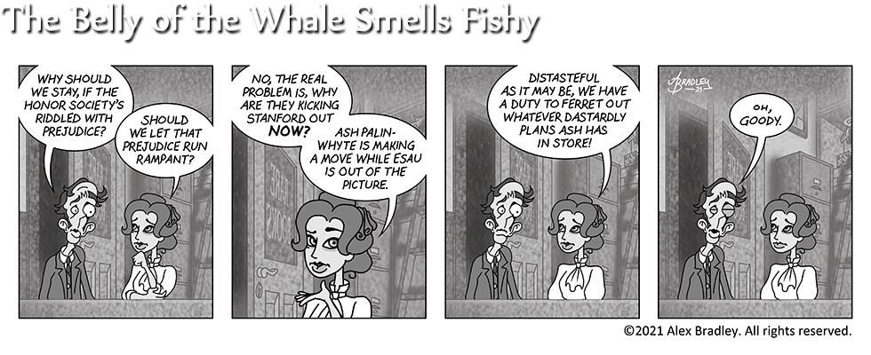 The Belly of the Whale Smells Fishy
