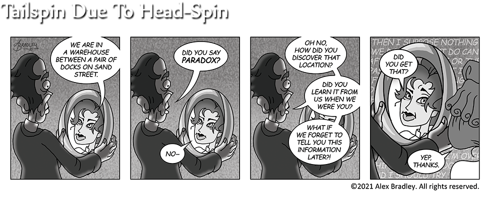 Tailspin Due To Head-Spin