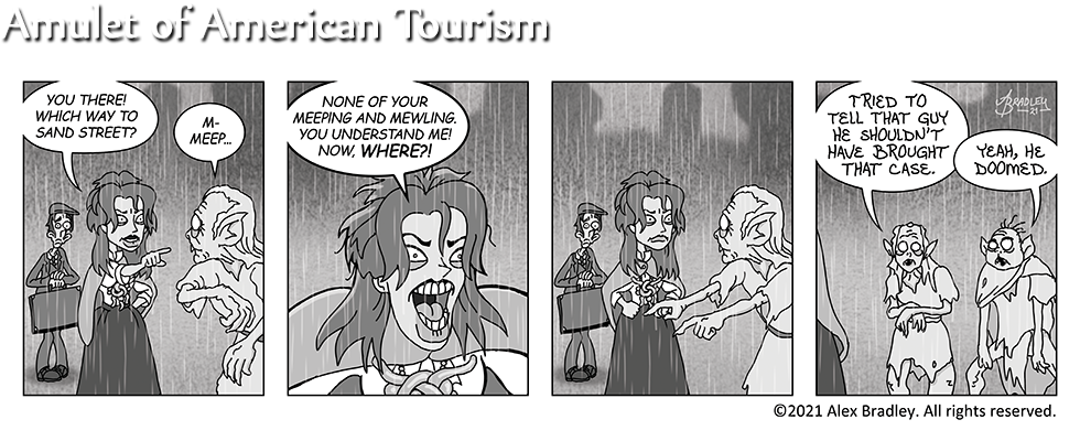 Amulet of American Tourism